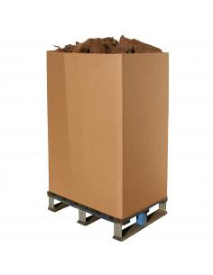 BOX SEMIPALETA LEÑA HAYA 0,6m3