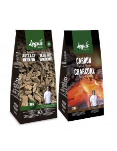 PACK CHARCOAL + WOODCHIPS