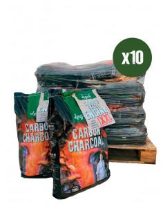 10 X CARBÓN DE ENCINA XXL 10KG